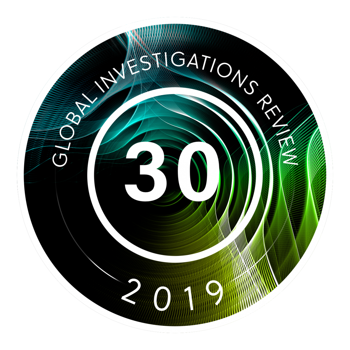 Global Investigations Review GIR 30 2019 badge
