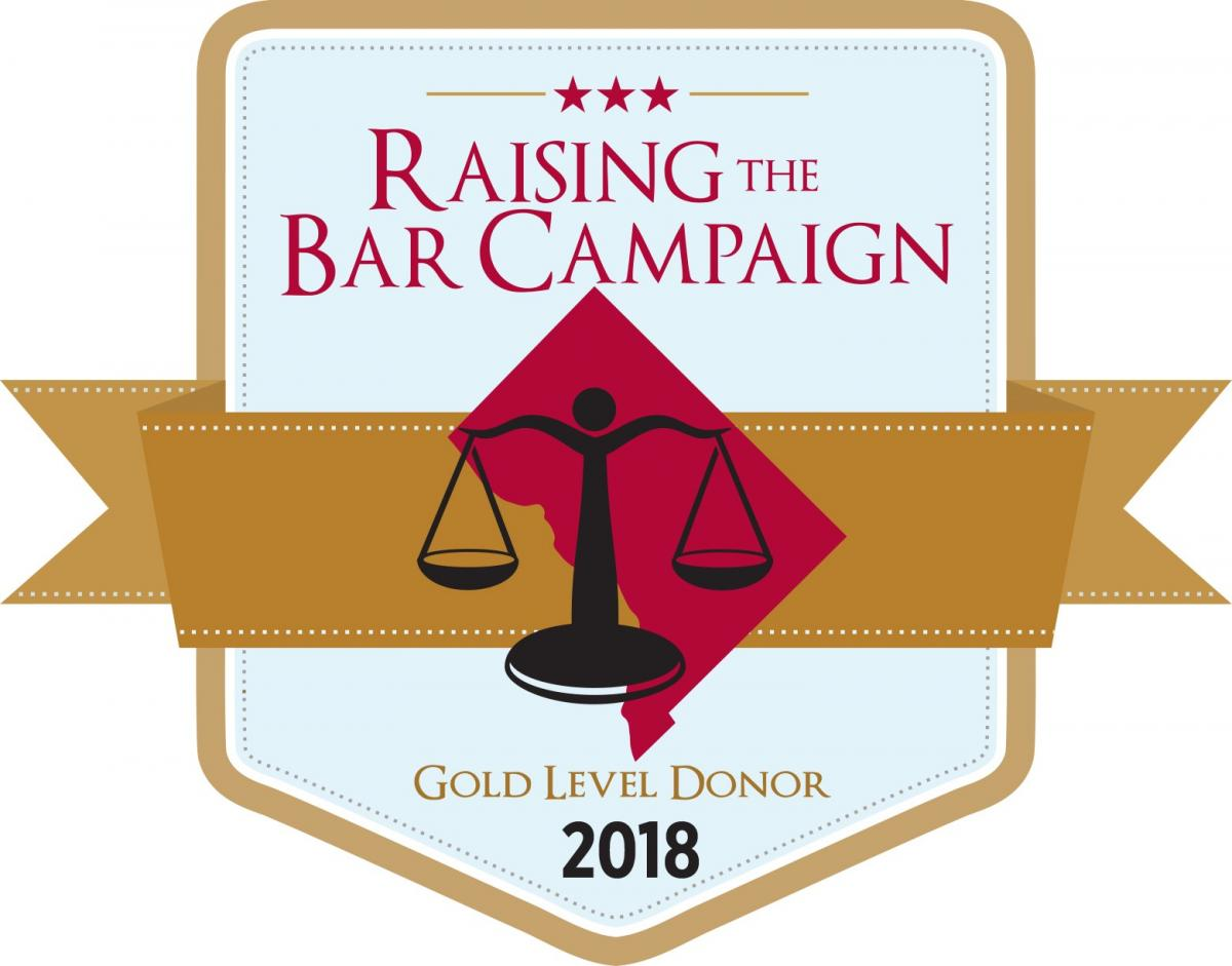Raising the Bar Campaign - Gold Seall