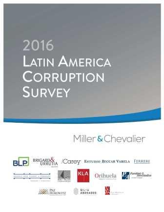 2016 Latin America Corruption Survey